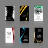 επαγγελματικές κάρτες κατατάξεων Στοκ φωτογραφίες με δικαίωμα ελεύθερης χρήσης