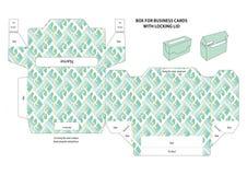 επαγγελματικές κάρτες κιβωτίων Στοκ φωτογραφία με δικαίωμα ελεύθερης χρήσης