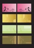 επαγγελματικές κάρτες Στοκ εικόνες με δικαίωμα ελεύθερης χρήσης
