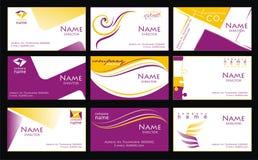 επαγγελματικές κάρτες ελεύθερη απεικόνιση δικαιώματος