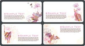 επαγγελματικές κάρτες Στοκ φωτογραφία με δικαίωμα ελεύθερης χρήσης