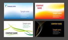 επαγγελματικές κάρτες απεικόνιση αποθεμάτων