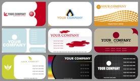 επαγγελματικές κάρτες Στοκ Εικόνα