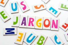 Επαγγελματική γλώσσα λέξης φιαγμένη από ζωηρόχρωμες επιστολές Στοκ φωτογραφία με δικαίωμα ελεύθερης χρήσης