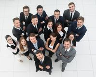 Επαγγελματική επιχειρησιακή ομάδα Στην άσπρη ανασκόπηση Στοκ Φωτογραφίες