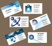 επαγγελματική κάρτα ανασκόπησης ελεύθερη απεικόνιση δικαιώματος