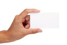 επαγγελματική κάρτα κενή Στοκ Εικόνες