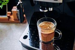 Επαγγελματική μηχανή καφέ για την εγχώρια χρήση Στοκ Εικόνα