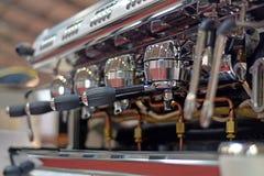 Επαγγελματική μηχανή καφέ Στοκ Φωτογραφία