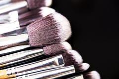 Επαγγελματική συλλογή βουρτσών makeup Στοκ Εικόνες
