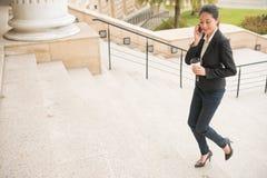 Επαγγελματικός δικηγόρος έτοιμος να πάει δικαστήριο ανοικτό Στοκ Εικόνες
