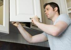 Επαγγελματικός handyman Στοκ Εικόνα