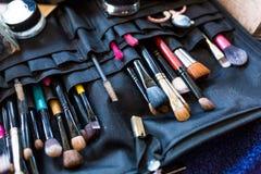 Επαγγελματικό σύνολο βουρτσών makeup Στοκ εικόνες με δικαίωμα ελεύθερης χρήσης