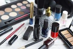 Επαγγελματικό σύνολο makeup Στοκ φωτογραφία με δικαίωμα ελεύθερης χρήσης