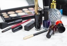 Επαγγελματικό σύνολο makeup Στοκ Εικόνες