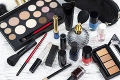 Επαγγελματικό σύνολο makeup Στοκ Εικόνα