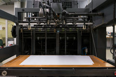 Επαγγελματική βιομηχανική μηχανή Mech μηχανισμών εξοπλισμού εκτυπωτών Στοκ εικόνα με δικαίωμα ελεύθερης χρήσης