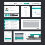 Επαγγελματική διανυσματική απεικόνιση προτύπων ιστοχώρου, Στοκ Εικόνες