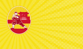 Επαγγελματική κάρτα ακαδημίας πολεμικών τεχνών Στοκ Εικόνες