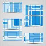Επαγγελματική κάρτα που τίθεται διανυσματική για το σχέδιό σας Στοκ εικόνες με δικαίωμα ελεύθερης χρήσης