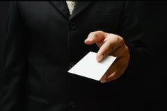 επαγγελματική κάρτα Στοκ φωτογραφία με δικαίωμα ελεύθερης χρήσης