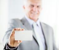 Επαγγελματική κάρτα Στοκ Φωτογραφία