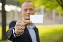 Επαγγελματική κάρτα Στοκ εικόνα με δικαίωμα ελεύθερης χρήσης
