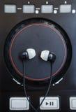 Επαγγελματική υγιής περιστροφική πλάκα ελεγκτών μίξης DJ Midi Στοκ φωτογραφία με δικαίωμα ελεύθερης χρήσης