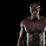Επαγγελματικός αρσενικός κολυμβητής στοκ φωτογραφία με δικαίωμα ελεύθερης χρήσης