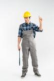 Επαγγελματικός εργάτης οικοδομών Στοκ Εικόνες