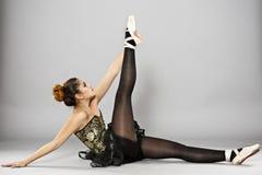 Επαγγελματικός θηλυκός χορευτής μπαλέτου στοκ φωτογραφίες