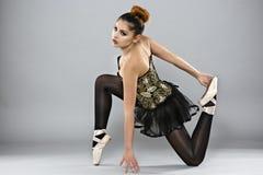 Επαγγελματικός θηλυκός χορευτής μπαλέτου στοκ φωτογραφία με δικαίωμα ελεύθερης χρήσης