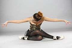 Επαγγελματικός θηλυκός χορευτής μπαλέτου στοκ εικόνες