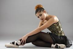 Επαγγελματικός θηλυκός χορευτής μπαλέτου στοκ φωτογραφίες με δικαίωμα ελεύθερης χρήσης