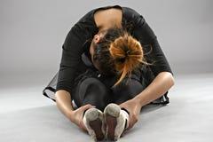 Επαγγελματικός θηλυκός χορευτής μπαλέτου στοκ εικόνα