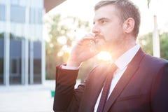 Επαγγελματικός διευθυντής κατά τη διάρκεια της εργασίας Στοκ εικόνες με δικαίωμα ελεύθερης χρήσης