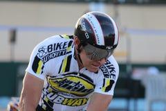 Επαγγελματικός ποδηλάτης στοκ εικόνα με δικαίωμα ελεύθερης χρήσης