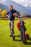 Επαγγελματικός φορέας γκολφ Στοκ φωτογραφία με δικαίωμα ελεύθερης χρήσης