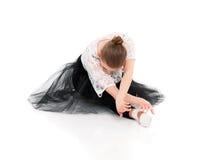 Επαγγελματικός χορευτής μπαλέτου στοκ εικόνα