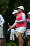 Επαγγελματικό πρωτάθλημα 2016 PGA των γυναικών πάρκων KPMG Inbee παικτών γκολφ Στοκ Εικόνες