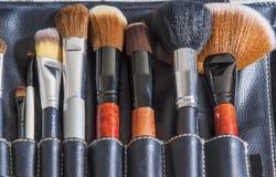 Επαγγελματικό σύνολο βουρτσών Makeup κοκκώδες Στοκ φωτογραφία με δικαίωμα ελεύθερης χρήσης