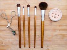 Επαγγελματικό σύνολο βουρτσών makeup Στοκ φωτογραφίες με δικαίωμα ελεύθερης χρήσης
