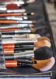 Επαγγελματικό σύνολο πολλαπλάσιων πινέλων Makeup του διαφορετικού Si Στοκ φωτογραφία με δικαίωμα ελεύθερης χρήσης