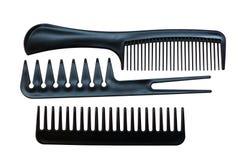 Επαγγελματικό σύνολο χτενών για hairdressing Στοκ Φωτογραφίες