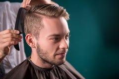Επαγγελματικό hairdressing σαλόνι Στοκ φωτογραφία με δικαίωμα ελεύθερης χρήσης