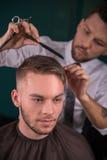 Επαγγελματικό hairdressing σαλόνι Στοκ Φωτογραφία