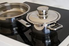 επαγωγή κουζινών στοκ φωτογραφίες με δικαίωμα ελεύθερης χρήσης