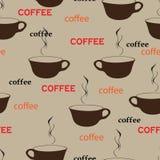 επανάληψη καφέ Στοκ Εικόνες