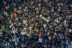 Επανάσταση ομπρελών στο Χονγκ Κονγκ 2014 Στοκ φωτογραφία με δικαίωμα ελεύθερης χρήσης