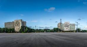 Επανάσταση Square Plaza de Λα Revolucion - Αβάνα, Κούβα Στοκ Εικόνες